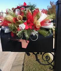 holiday custom order for christmas saddle use as a mailbox