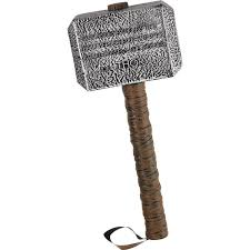 amazon com disguise marvel thor hammer accessory standard clothing
