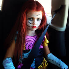 Halloween Costumes Nightmare Christmas Sally Nightmare Christmas Makeup Sally