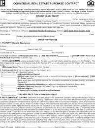 download utah commercial real estate purchase contract form for