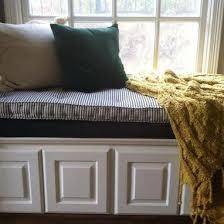 hand crafted custom hand tufted mattress cushion window seat