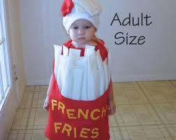 French Fry Halloween Costume Baby Costumes Twin Costume Halloween Costumes Fast Food