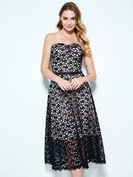 tea length lace dresses tbdress com
