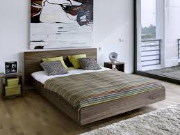 furniture contemporary bed design with floating bed frame ideas