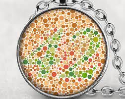 Color Blind Plate Test Color Blindness Test Etsy