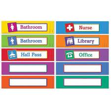 Printable Bathroom Passes Hall Pass Ideas Kids Homeschool Pinterest