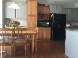 oak kitchen cabinets painted grey help painting oak cabinets grey