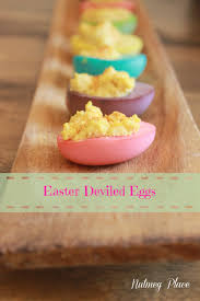 easter deviled eggs from megan ward maxwell card of nutmeg place