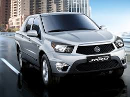 ssangyong first drive ssangyong korando sports the independent