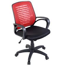 modern mesh office chair with red back office chairs office