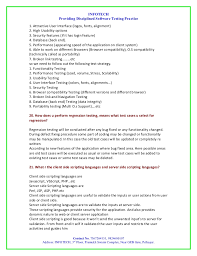 Sample Resumes For Entry Level Jobs by Qa Testing Entry Level Resume Contegri Com