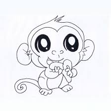 cute monkey drawing free download clip art free clip art on