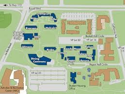 American University Campus Map Alder Hall