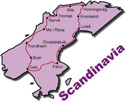 map of europe scandinavia motorcycle tours scandinavia by reuthers harley davidson bmw