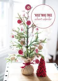 kissmas tree advent calendar count and advent calendars