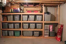 Wooden Storage Shelves Diy by Ana White Easy And Fast Diy Garage Or Basement Shelving For Tote