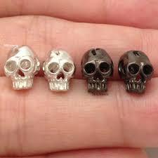 skull stud earrings 8 best skull jewelry for men images on skull jewelry