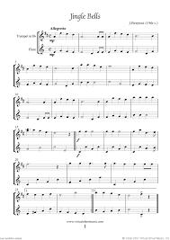 trumpet and flute christmas duet sheet music carols