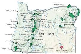map of oregon mountains take a hike hiking oregon youngberg hill
