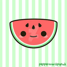 watermelon emoji yummy kawaii watermelon by peppermint pop uk on deviantart