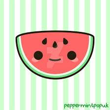 yummy kawaii watermelon by peppermint pop uk on deviantart