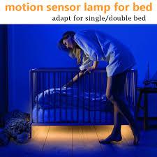 aliexpress com buy led bed light with pir motion sensor flex