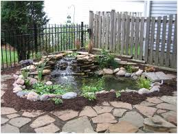 backyards mesmerizing garden landscaping fantastic waterfall and