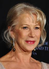 wedding hair updo for older ladies helen mirren french twist updo for women over 60 french twists