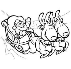 collection of solutions printable santa coloring pages with