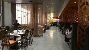 Indian Restaurant Interior Design by Cafe Baadal At Googleplex Serves Best Indian Food To Employees