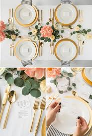Dining Table Settings Pictures Appealing Best 25 Dinner Table Settings Ideas On Pinterest Place