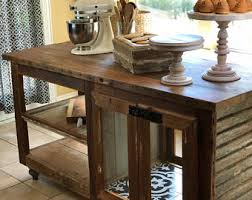 kitchen island etsy