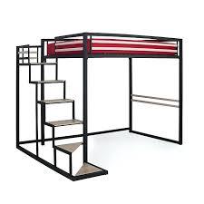 lit mezzanine 2 places avec canapé lit mezzanine avec canape home lit mezzanine 2 places noir avec