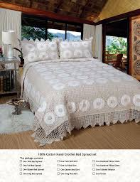 Cheap Black Duvet Covers Find More Bedspread Information About Cotton Crochet Beige Color