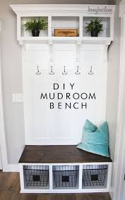 entryway bench with hooks and storage diy entryway bench diy mudroom bench mudroom bench and mud rooms