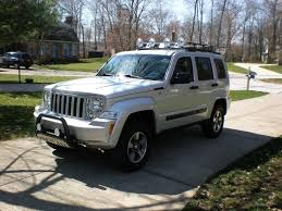 2011 jeep liberty hitch bull bar roof rack and lights installed jeepforum com