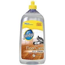 pledge wood floor finish clean scent 27 fl oz walmart com