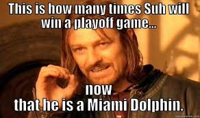Funny Miami Dolphins Memes - one does not simply memes quickmeme