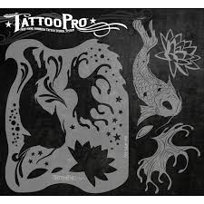 tattoo pro koi u0026 lotus facepaint online
