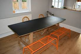 large trestle dining table large trestle dining table in hull east yorkshire gumtree