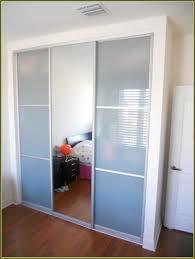 sliding closet door track wheels home design ideas