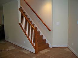 nice steps to finishing a basement stairs basements ideas