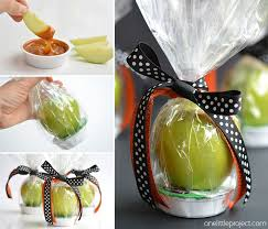 candy apple party favors apple and caramel fall treats