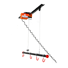 garage gator gg4125 125lb motorized overhead bike lift system