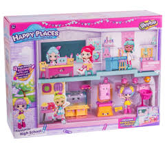 Happy Home Designer Department Store by Amazon Com Happy Places Shopkins Happyville High Playset