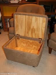 Rolling Ottoman Furniture David P Montague