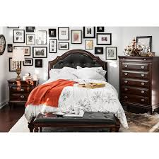 manhattan queen bed cherry american signature furniture click to change image