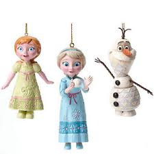 disney traditions jim shore frozen hanging ornaments 4046062 elsa