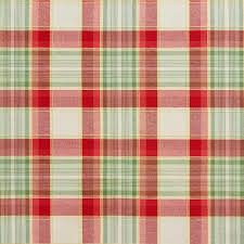 green and country plaid upholstery fabric by the yard