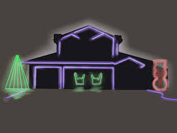 Four Lights Houses How To Make Your Christmas Lights Flash To Music 12 Steps